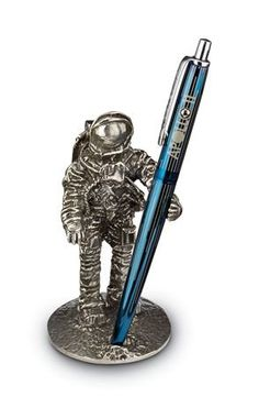 Jac Zagoory One Giant Step Astronaut Pen Holder *** Details can be found by clicking on the image.