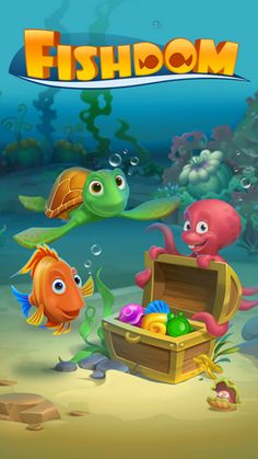 Fishdom - Deep Dive v2.0.26 [Mod Money/Ad-Free]   Fishdom - Deep Dive v2.0.26 [Mod Money/Ad-Free]Requirements: Android 4.0Overview: Never Fishdomed before? Take a deep breath and dive into the underwater world of match-3 fun with Fishdom: Deep Dive!  Engage in challenging and fun match-3 gameplay with unique twists as you decorate tanks to create cozy homes for lovely fish. Feed them play with them and watch them interact with each other. Hey your finned friends are waiting for youDIVE IN…