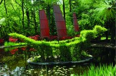 MARYLAND- Ladew Topiary Gardens