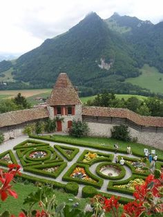 Gruyeres Castle ~ Montreux, Switzerland