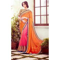 Impressive Glam Designer Saree ( D.No.1502 )