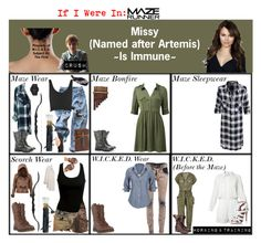 """If I Were In: The Maze Runner"" by elmoakepoke ❤ liked on Polyvore featuring Pierre Balmain, Dr. Martens, Xirena, AmeriLeather, Forever New, Levi's, Topshop, Rails, CO and Lucky Brand"