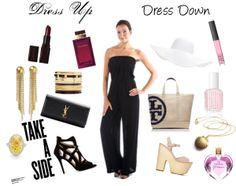 The simple black jumpsuit is so versatile. Dress it up or dress it down!  http://www.shopambience.com/young_fabulous_broke_arie_strapless_jumpsuit_p/rc4031-yfb-jumpsuit-black.htm