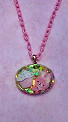 Kawaii resin necklace