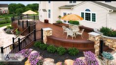 Another Amazing Deck - custom curved designs