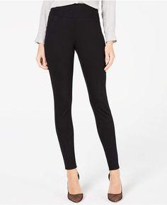 b584d094bb6b1 INC International Concepts I.n.c. Ponte Knit Skinny Pants Skinny Pants,  Pants For Women, Black
