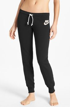 Nike 'Rally' Tight French Terry Sweatpants available at #Nordstrom