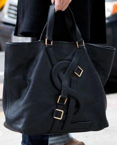 Yves St Laurent Tote Bag