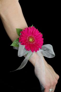 gerbera daisy boutonniere wedding | Found on brightonfourseasonsflorist.com