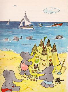 Babar prints are so cool