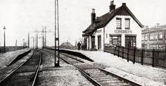 Station Schiebroek.
