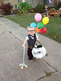 From the Disney movie Up, Carl Fredricksen.