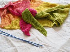 Tuto tricot : mon cosy trendy châle