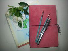 My new sketchbook!  Allie Ward Watercolors http://endofmybrush.blogspot.com/