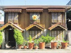 House in Laoag during Christmas