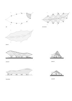 Gallery of Panyaden School / > architecture - 21 Galerie der Panyaden School / Architekt Biomimicry Architecture, Environmental Architecture, Architecture Concept Drawings, Bamboo Architecture, Futuristic Architecture, Parametric Design, Chinese Architecture, Library Architecture, Facade Architecture