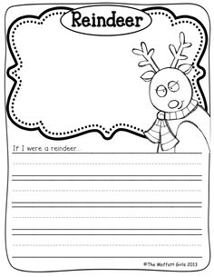 Daily Journal Prompts for December!  Such a GREAT way to get kids to write every day!