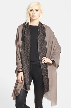 Nordstrom Lace Trim Wrap available at #Nordstrom