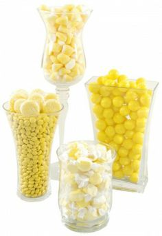 Yellow Candy Buffet Kit from candygalaxy.com