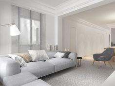 proyecto interiorismo piso barcelona Sofa, Couch, Furniture, Ideas, Home Decor, Floors, Interiors, Settee, Settee