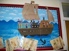 Pirate/Nautical themed Classroom