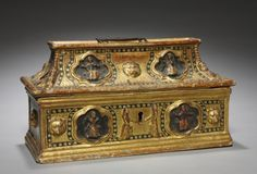 Casket, late 1300s                                                Italy, Siena?, late 14th century