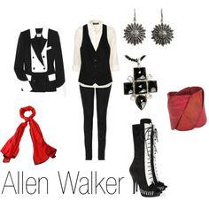 """Allen Walker"" by ja-vy on Polyvore"