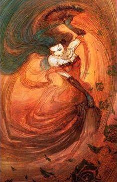 """7trigo: """" 7Trigo 7 saias É uma rosa Uma rosa com espinhos, Mas ela só espeta Quem atravessa o seu caminho Saravá Pomba Gira Laroiê! Pomba Gira Pomba Gira é Mojubá! """""""