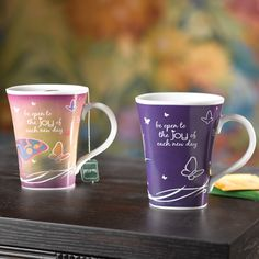 Be Open to Joy - color changing mugs