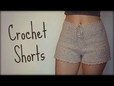 New ideas crochet skirt easy dress tutorials Crochet Shorts Pattern, Crochet Pants, Black Crochet Dress, Crochet Bodycon Dresses, Crochet Skirts, Crochet Clothes, T-shirt Au Crochet, Crochet Bikini Bottoms, Crochet Amigurumi