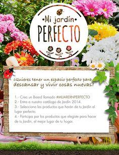 ¿Quieres tener el espacio perfecto para descansar esta primavera? Participa en este concurso. #Terraza  #Deco #Primavera  #Muebles #Jardín #easychile #easytienda #easy #Concurso #MiJardinPerfecto