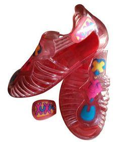 Zapatillas de Xuxa. Año 1992