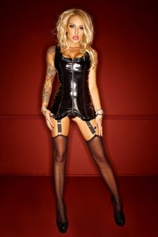 Noir Handmade Clubwear Strapskleid F077 www.lingerie4me.de/Dessous/Bodys-Strapshemden/Noir-Handmade-Clubwear-Strapskleid-F077-schwarz::2229.html #Strapskleid #Clubwear #Partywear #Noirhandmade #Lingerie4me
