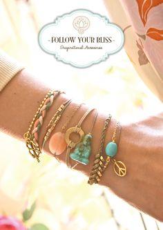 Follow your Bliss inspirational accessories www.followyourbliss.nl