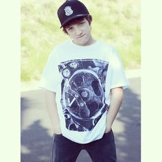 JAKE SHORT - This guy is serious about living A LIFE WORTH IMITATING! What about you?! @Jake Short in our GEARS tee and Crest Stamp prostyle hat - - #alifeworthimitating #beboldandcourageous #worthy #worth #proveIt #like #love #share  #fashion #menswear #tee #tshirt #jakeshort #jake #fletcher #antfarm #gears  #begood #barnabas #barnabasclothing #hat