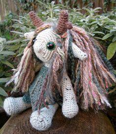PDF of Little Folk Amigurumi Pattern - Elf, Fairy, Sprite Crochet Pattern. $5.00, via Etsy.