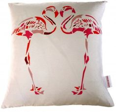Flamingo Cushions by Chloe Croft - Fuschia Flamingo Cushion. Shop the biggest range of flamingo cushions online with fast worldwide delivery. Small Cushions, Scatter Cushions, Cushion Pads, Cushion Covers, Natural History Musuem, Cute Pillows, Throw Pillows, Butterfly Cushion, Hearts Playing Cards