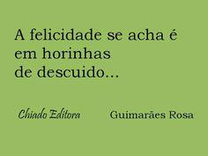 Outra frase de Guimarães Rosa