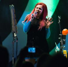 Photo of Kate Pierson of the B-52s by my friend Brooke Meyer, at Booth Amphitheatre in Cary NC last week.