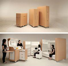 mobiliario modular