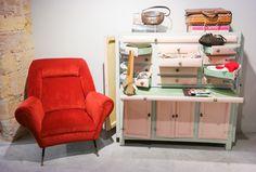 Beautiful vintage interior decoration in LoveRetro, Cagliari, Sardinia Through The Window, Suede Skirt, Sardinia, British Style, Interior Decorating, Retro, Decoration, Vintage, Inspiration