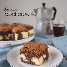 Ronda, de finom: Fűszeres boci brownie | SweetHome Brownies, Cake Cookies, Cupcakes, Tiramisu, Food Porn, Muffin, Cooking Recipes, Baking, Ethnic Recipes