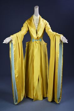 """Greer Garson, """"That Forsyte Woman,"""" MGM, Designed by Walter Plunkett, The Collection of Motion Picture Costume Design: Larry McQueen Fashion Tv, 1940s Fashion, Fashion History, Vintage Fashion, Fashion Design, Hollywood Gowns, Hollywood Costume, Jeanne Lanvin, Theatre Costumes"""
