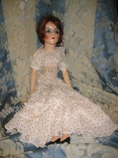 Vintage Sterling Co Boudoir Doll by VictorianaSedona on Etsy