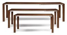 Bramante ausziehbarer Esstisch, Walnuss ► Neues Design für dein Zuhause! Entdecke jetzt Tische von klein bis groß bei MADE.