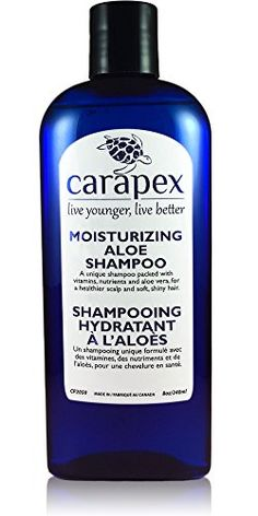 Carapex Moisturizing Aloe Shampoo Fragrance Free for Dry Hair  Scalp Safe for Color Treated Damaged  Thinning Hair Reduces Flakes Adds Volume and Shine Paraben Free 8oz ** Find out more about the great product at the image link.Note:It is affiliate link to Amazon.