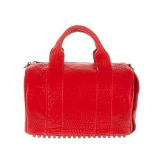 farfetch.com and Fashiolista are giving one lucky lady this red Rocco bag by Alexander Wang. Who wants it?
