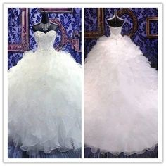 Lace Ball Gown/Duchess Strapless Wedding Dresses #HS0020