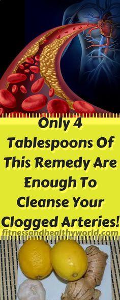 #remedy #clogged #arteries #health #garlic