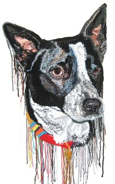 Jo Hamilton interview– Painting with yarn - crochet portraits